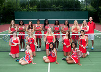 Tennis - Girls Posed